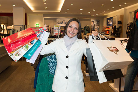 Counting shoppers to increase sales