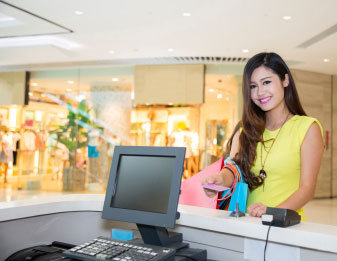 Integrating people counts with POS systems