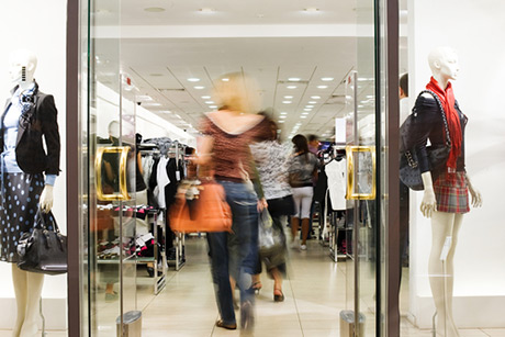Gaining data from people counts - retail analytics
