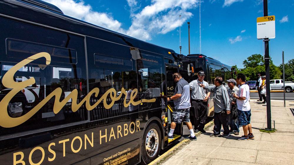 casino bus transport