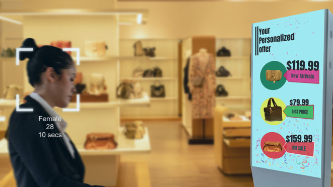 digital signage with artificial intelligence