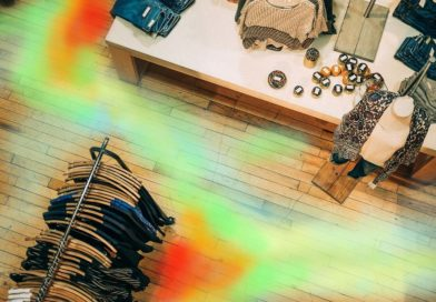 Heat map retail store