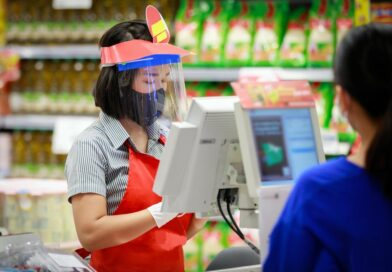 store checkout during covid19 pandemic